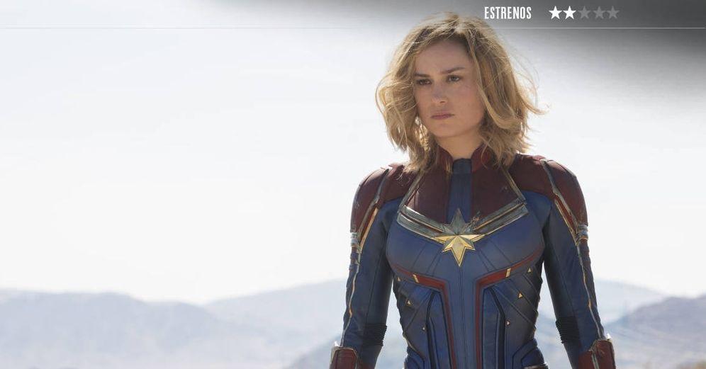 Foto: Brie Larson es 'Capitana Marvel', la superheroína de moda. (Disney)