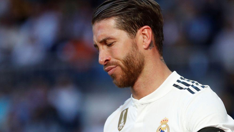 Foto: Sergio Ramos no jugará este sábado contra el Eibar. (Reuters)