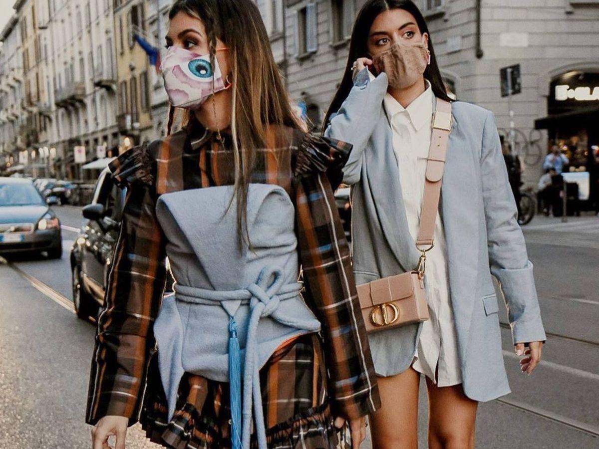 Foto: Las influencers Ángela Rozas y Aida Domenech, en Milán. (Instagram @dulceida)
