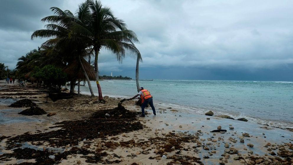 Franklin, el primer huracán de la temporada en el Atlántico, llega a México
