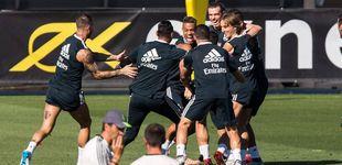Post de Los nuevos ingresos del Madrid: patrocinar la camiseta de entrenamiento... y la manga