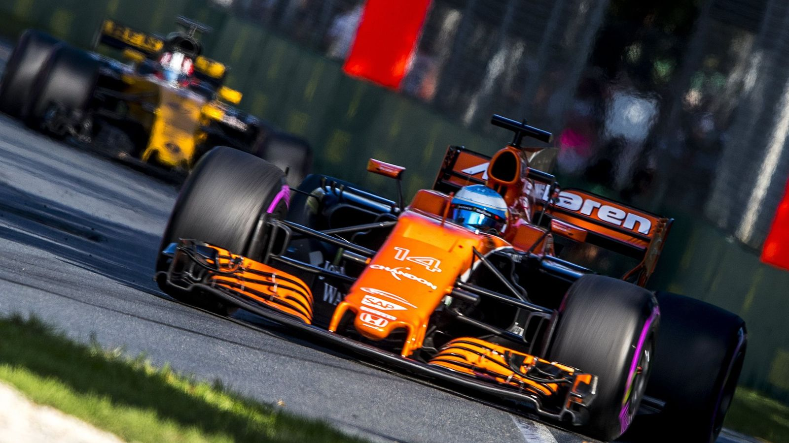 Foto: Fernando Alonso, en este GP de Australia de Fórmula 1. (EFE)