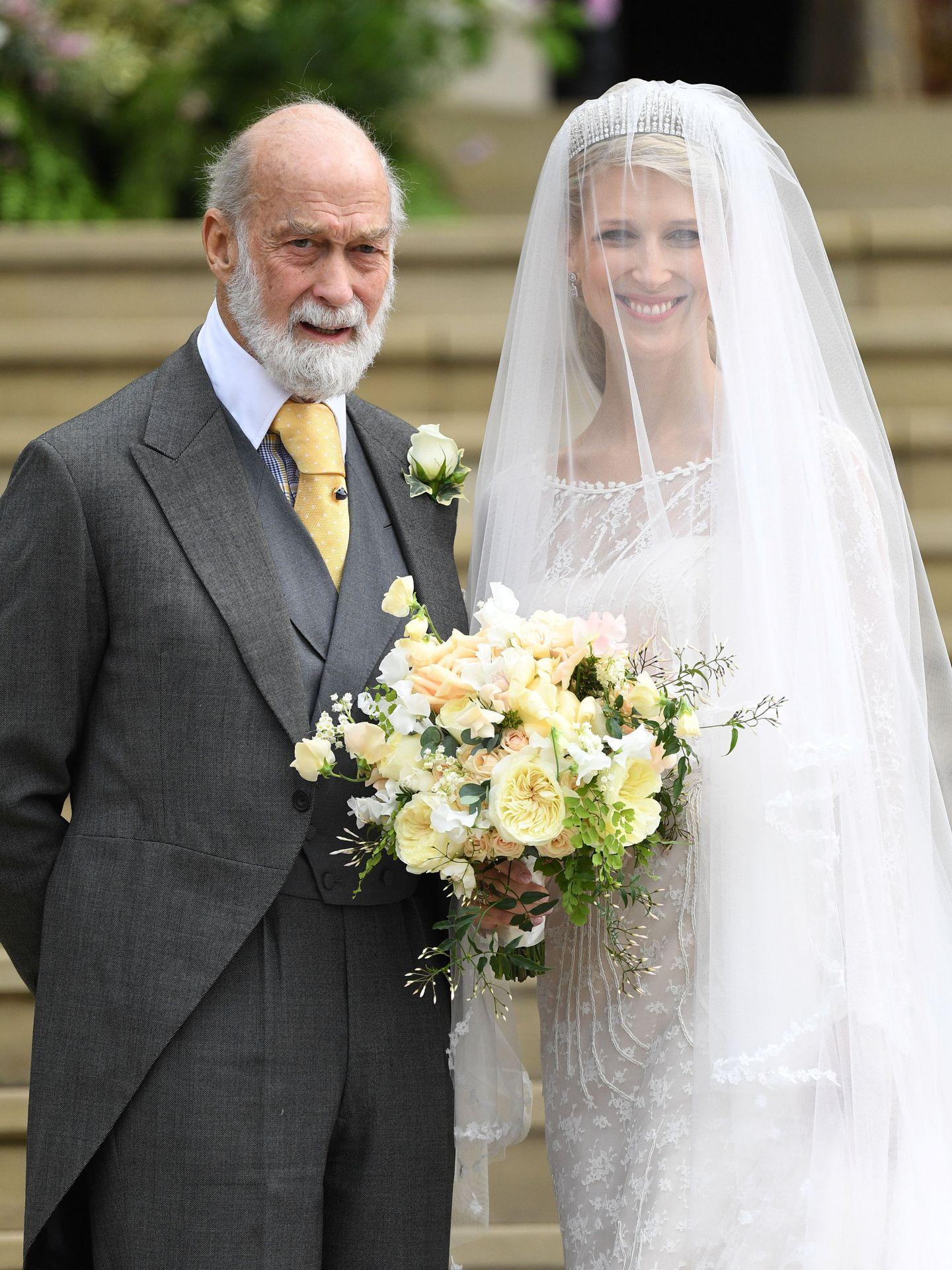 El príncipe Michael de Kent, en la boda de su hija Gabriella. (Reuters)