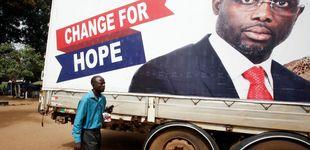 Post de George Weah, de la chabola a la presidencia de Liberia... pasando por el Balón de Oro