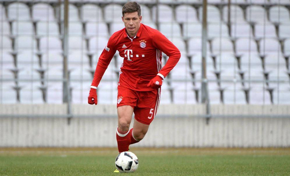 Foto: Nicolas Feldhahn, en un partido con el segundo equipo del Bayern. (Imago)