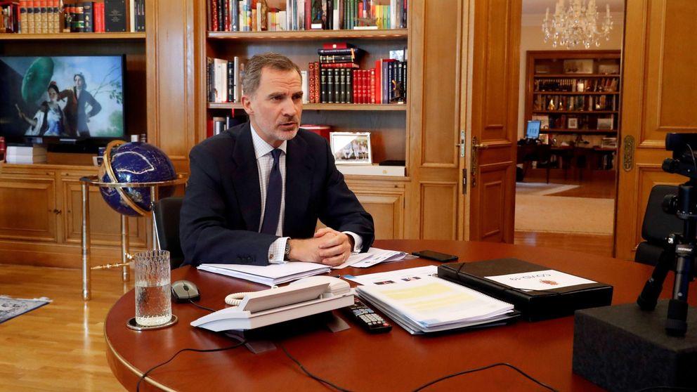 Nuevo cambio (simbólico y con mucho arte) en el despacho de Felipe VI