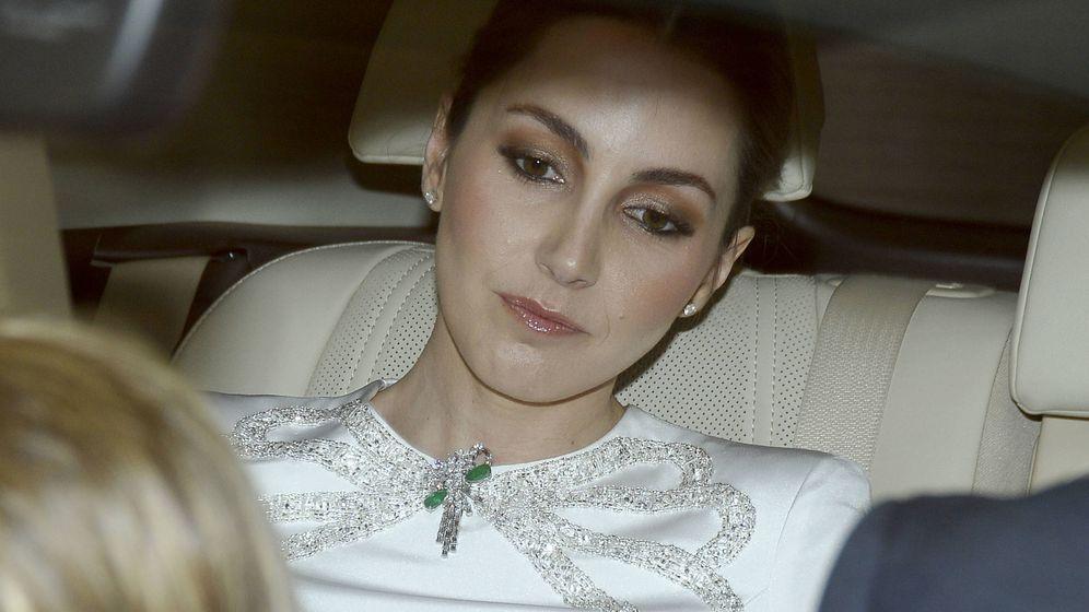 Foto:  Alejandra Romero, de camino a su boda. (Gtres)