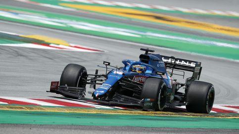 Esperanza para Fernando Alonso (5º) y Alpine en unos libres aciagos para Red Bull