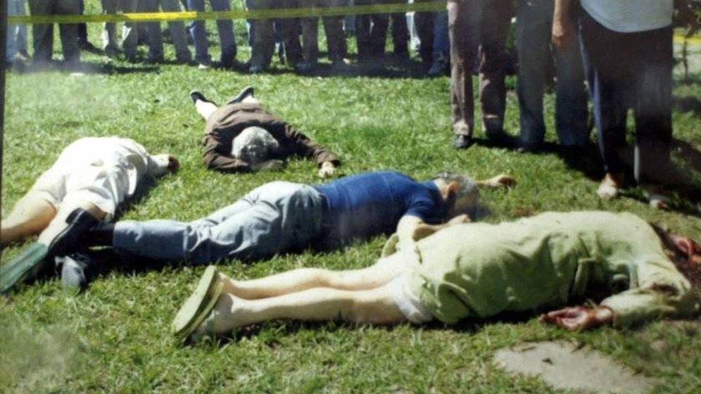 Foto: Los jesuitas españoles asesinados en San Salvador, el 16 de noviembre de 1989