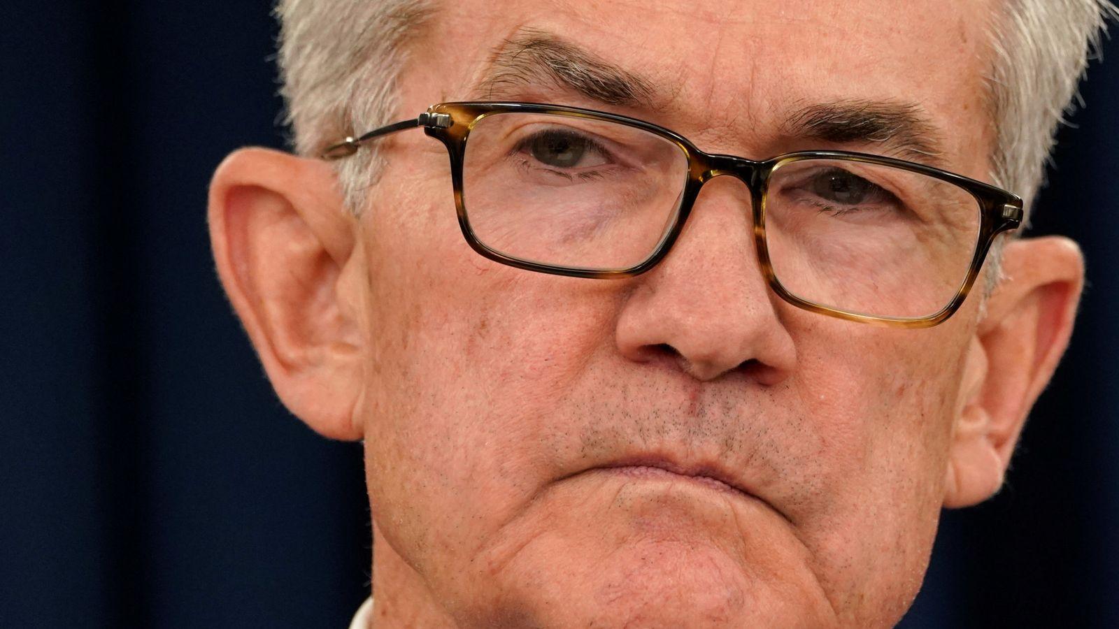 Foto: El presidente de la Reserva Federal, Jerome Powell. (Reuters)
