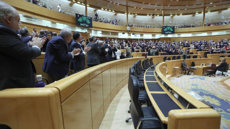 Foto: Una sesión del Senado (Efe)