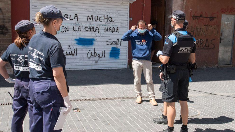 La Guardia Urbana de Barcelona multará a partir de la próxima semana por no llevar mascarilla