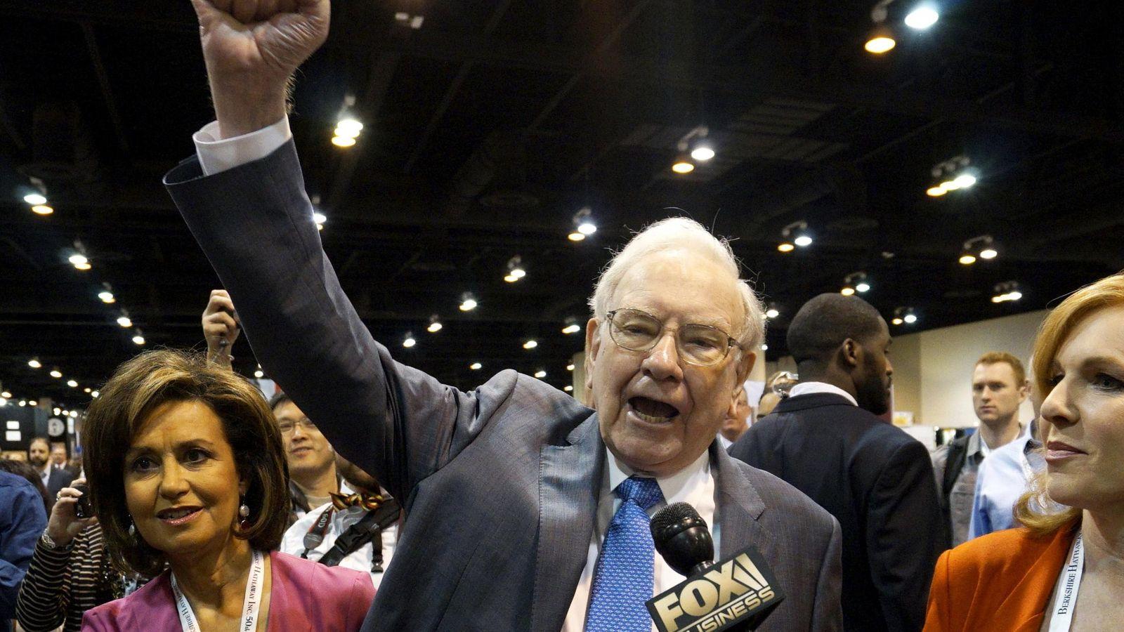 Foto: El presidente y consejero delegado de Berkshire Hathaway, Warren Buffett