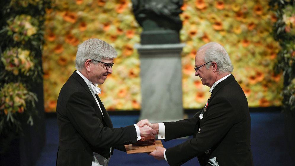 Foto: Ceremonia de entrega de los Nobel 2018 en Estocolmo. (EFE)