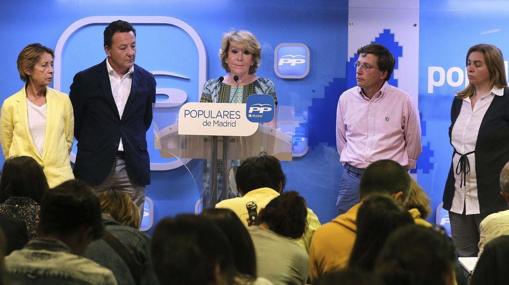 Foto: La presidenta del PP de Madrid y candidata a la Alcaldía de la capital, Esperanza Aguirre. (EFE)