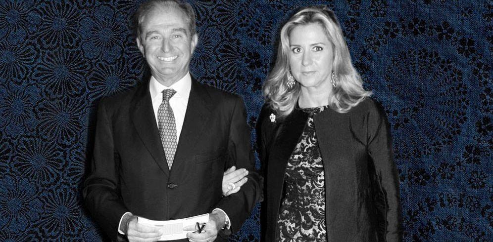 Foto: Alberto Palatchi y su exmujer en un fotomontaje de Vanitatis.