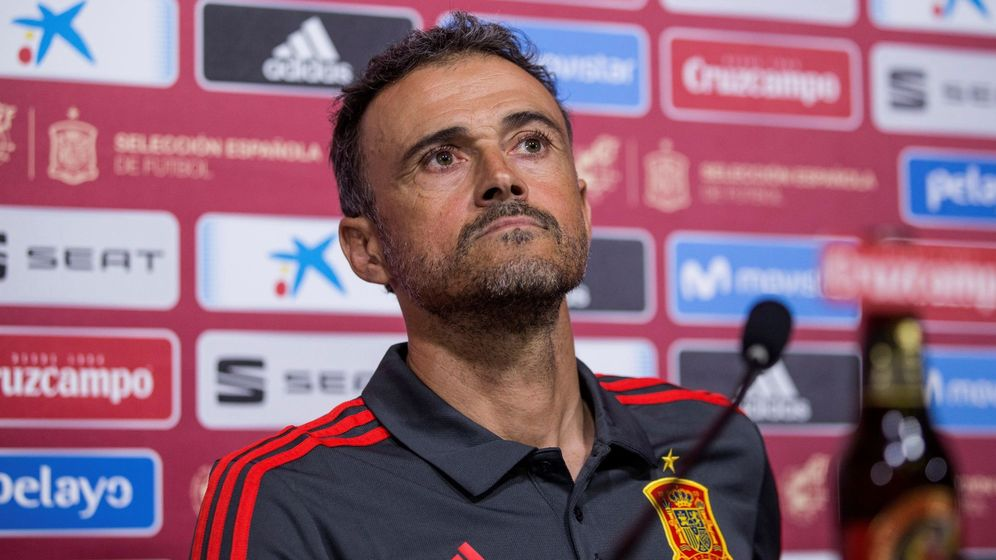 Foto: Luis Enrique anunció este viernes su convocatoria para los dos próximos partidos de la Selección. (EFE)