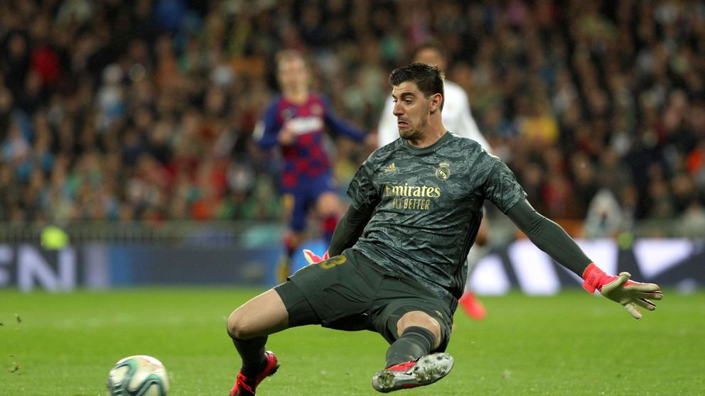 La red de Thibaut Courtois y por qué se habla en el Real Madrid de tener el 'culo apretado'
