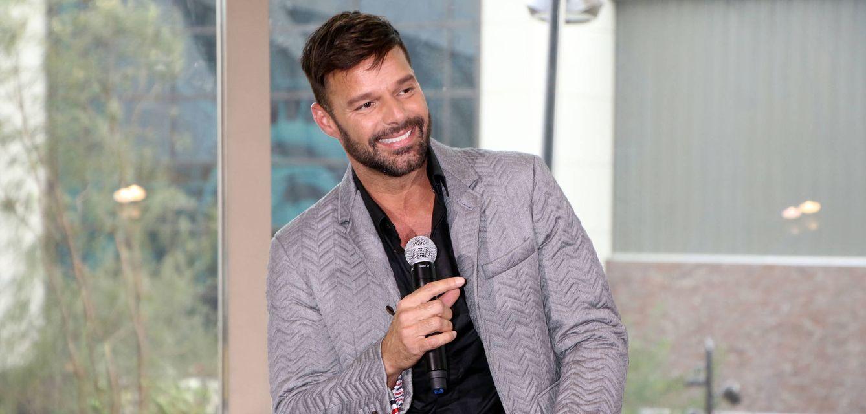 Foto: Ricky Martin en las Vegas hace unos días (Gtres)