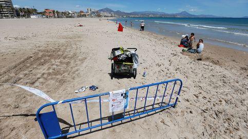 Alicante levanta el cierre de las playas desde este viernes para pasear y hacer deporte