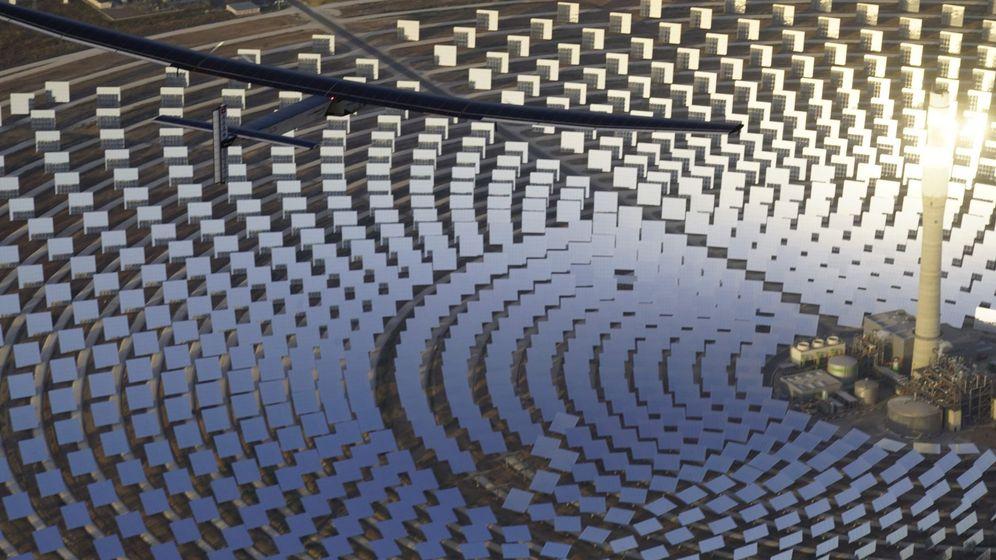 Foto: Planta termosolar en Sevilla. (EFE)