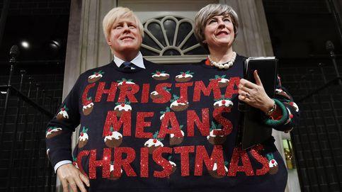 El jersey navideño de May y Johnson