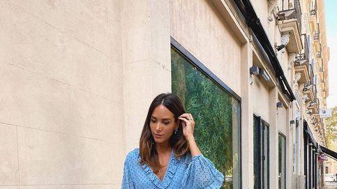 El vestido azul de lunares de Zara que ha conquistado a Rocío Osorno y... a ti