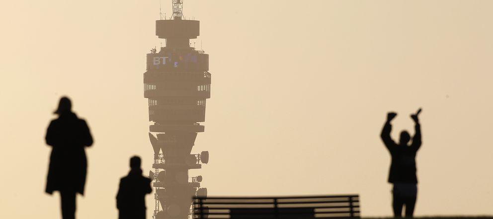 Foto: La torre de telecomunicaciones British Telecom (Reuters)