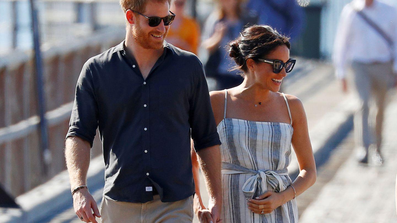 El príncipe Harry y Meghan Markle, en su viaje oficial por Oceanía. (Reuters)