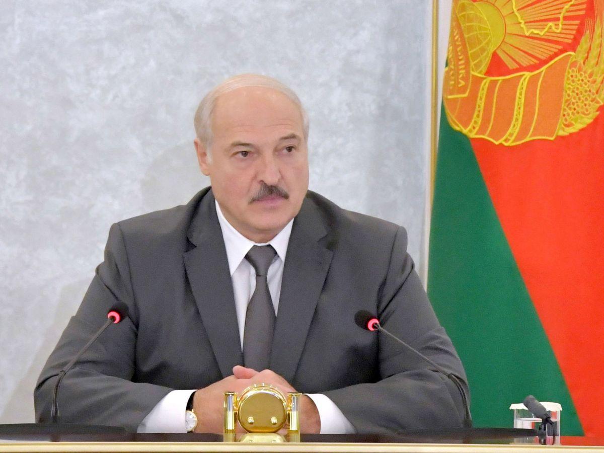 Foto: Alexander Lukashenko este miércoles. (EFE)