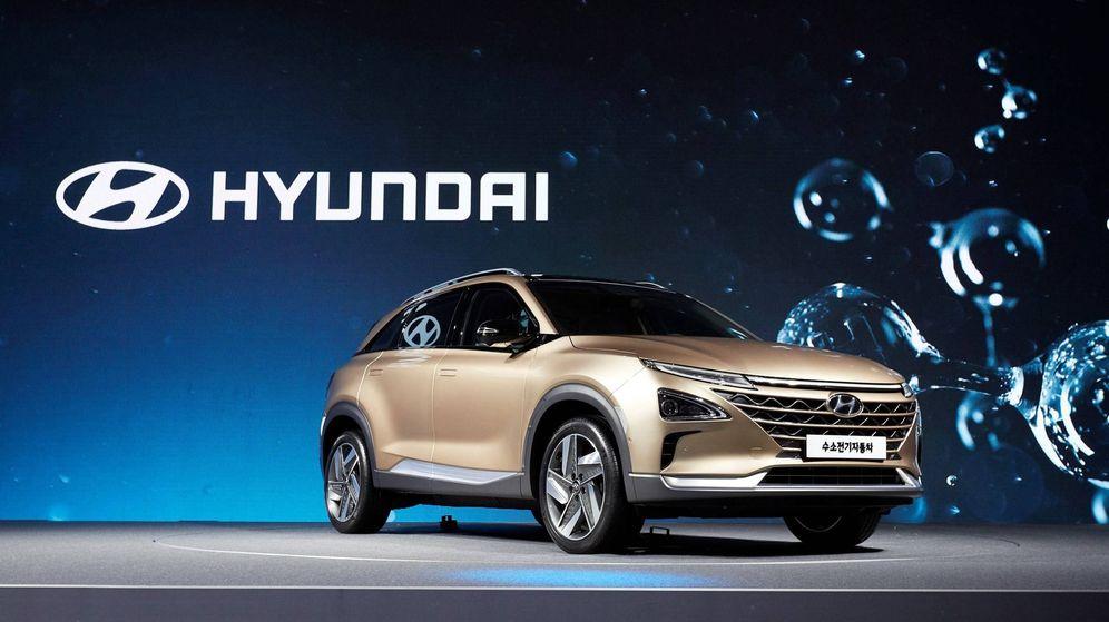 Foto: Hyundai Nexo de hidrógeno, una gran apuesta de futuro de la marca coreana a nivel mundial.