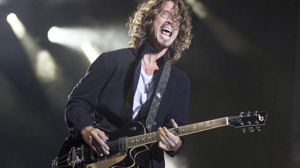 Foto: El cantante Chris Cornell durante un concierto. (EFE)