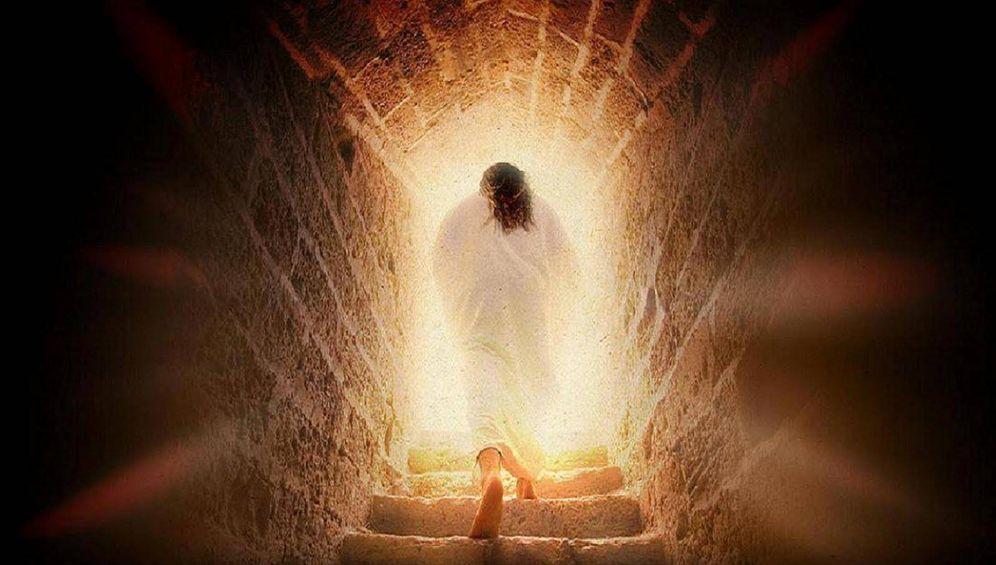 Foto: Recreación de la resurrección de Jesús.