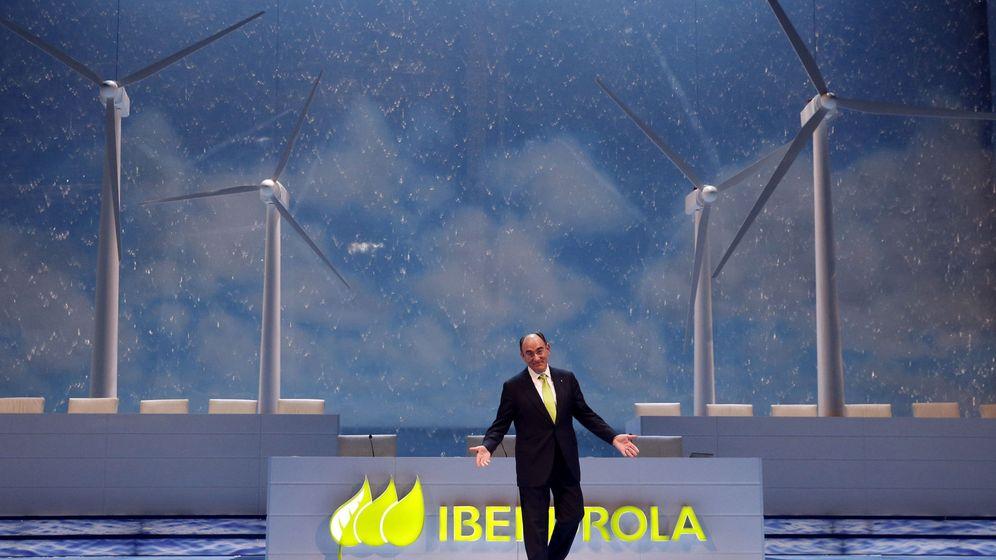 Foto: El presidente de Iberdrola, Ignacio Sanchéz Galán, al inicio de la junta general de accionistas de Iberdrola. (EFE)