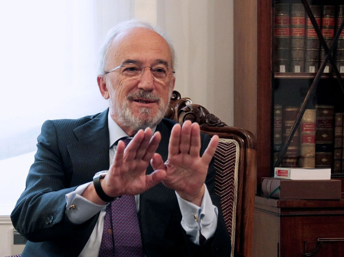 Foto: El director de la Real Academia Española (RAE), Santiago Muñoz Machado. (EFE)