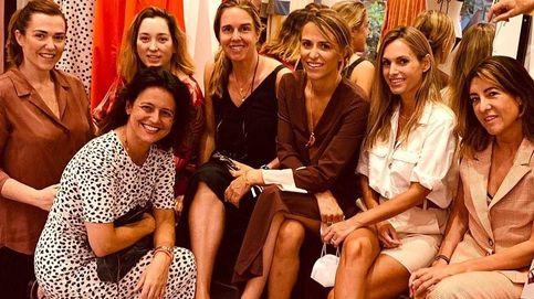 Cónclave de aristócratas en la inauguración de la tienda de Laura Vecino en Madrid