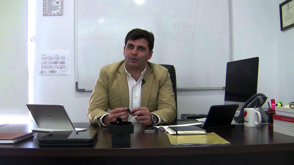 Foto: Rafael Contreras, presidente de Carbures