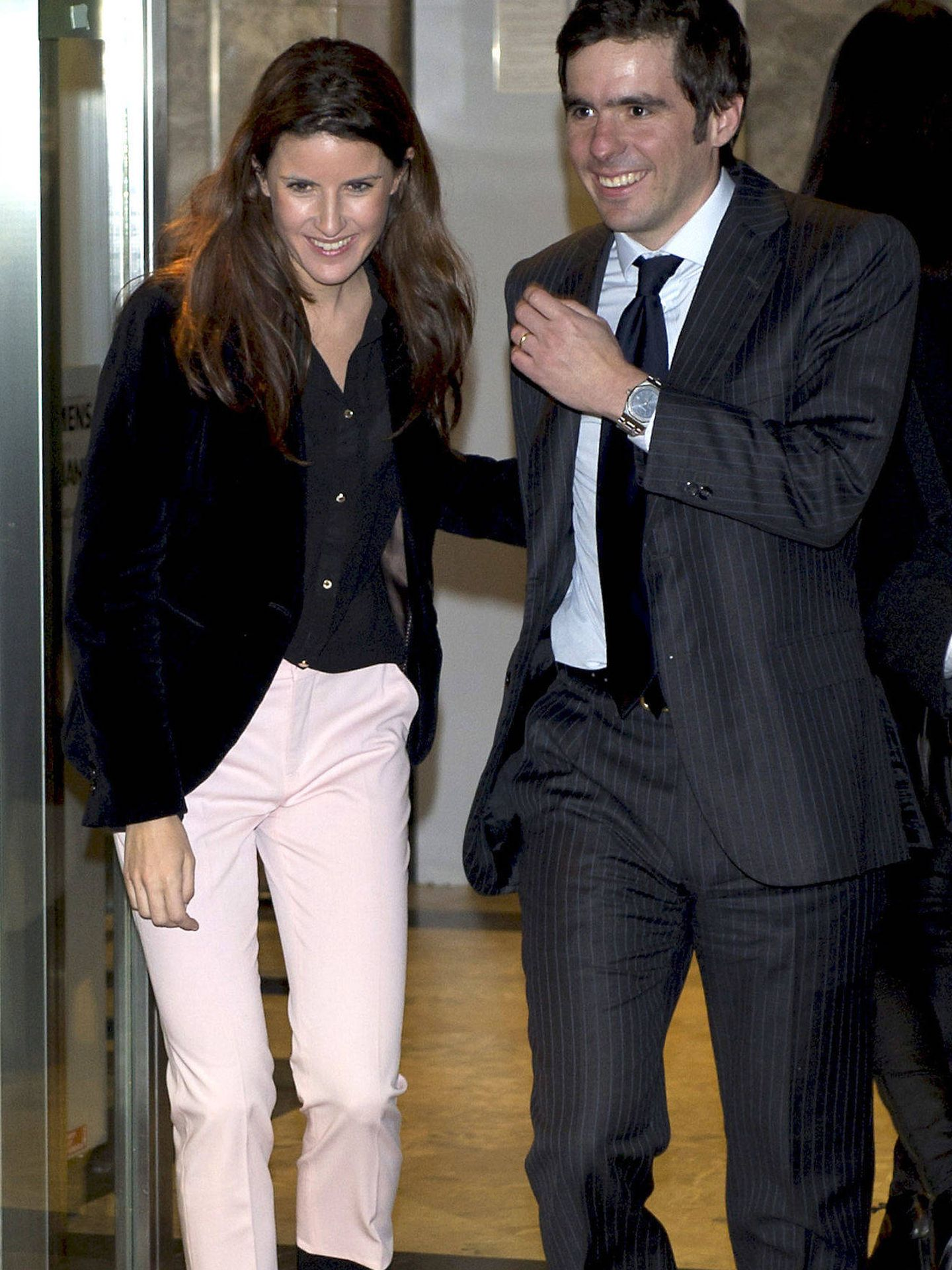 José María Jr. y su mujer, Mónica Abascal. (Gtres)