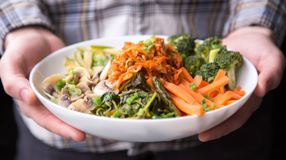 Foto: La comida real está formada por materias primas.