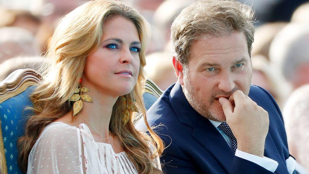 Foto: Magdalena y Chris O'Neill en una imagen de archivo. (Getty)