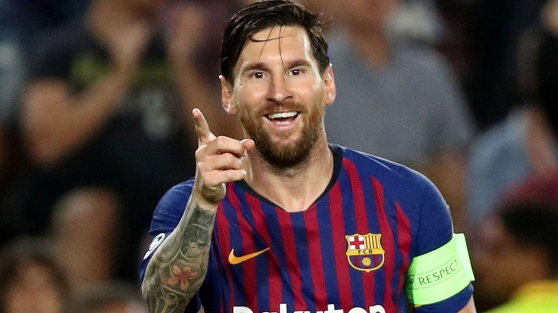 Foto: Messi comienza la Champions con tres goles. (Reuters)