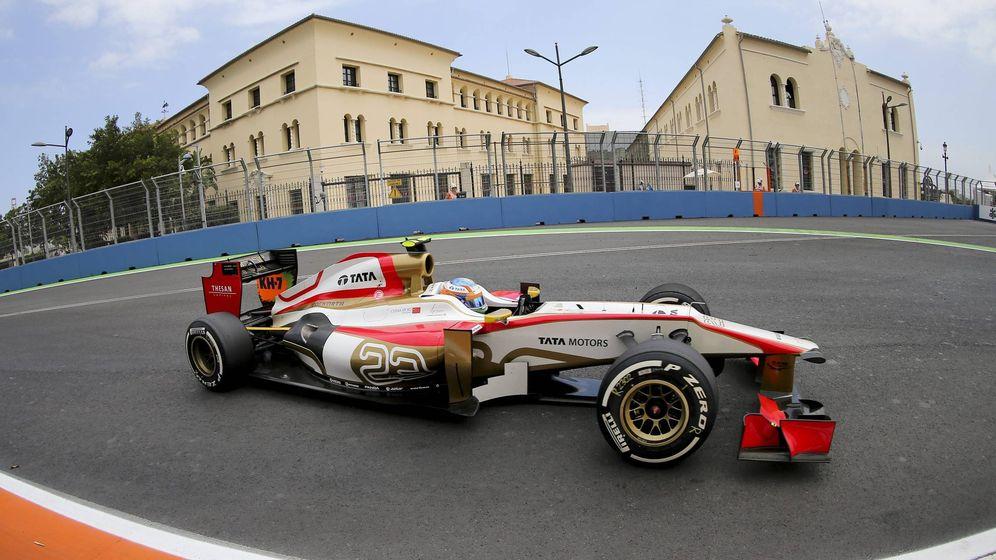 Foto: HRT fue el último equipo español en la Fórmula 1. (EFE)