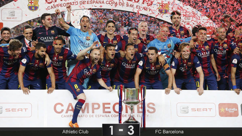 Foto: El Barcelona está del lado de Messi, y eso es estar en el lado que sólo sabe ganar