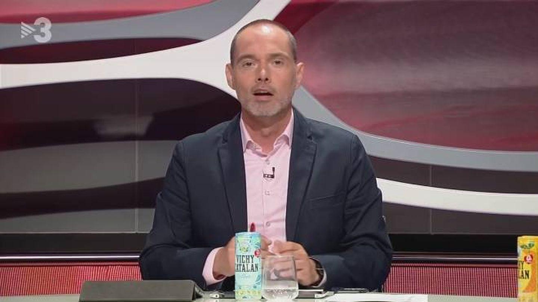Marc Negre, presentador de 'Esport club'. (TV3).