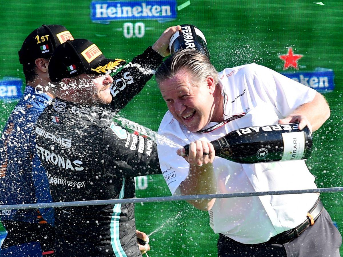 Foto: La victoria de McLaren en Monza completaba uno de los episodios más estimulantes de la F1 en los últimos tiempos