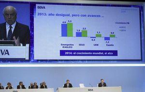 Casi el 90% de los accionistas de BBVA elige cobrar el dividendo en acciones