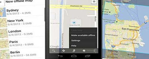 Foto: Google Maps se supera: disponible sin Internet para los dispositivos Android