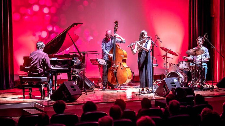 María Toro en concierto, sumando flamenco y jazz. (©Juan Luis García)