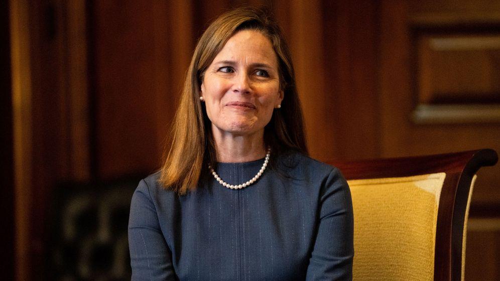 Foto: La jueza del Supremo, Amy Coney Barret. (EFE)