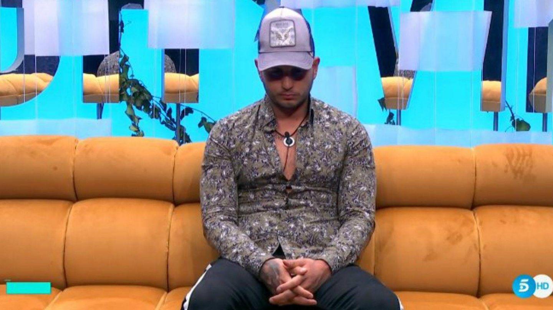 Omar Montes, en 'GH VIP 6'. (Telecinco)
